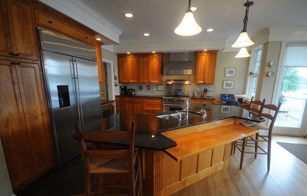 Amesbury: The kitchen at 443 Main Street in Amesbury  part of this weekends House tour. Jim Vaiknoras/Staff photo