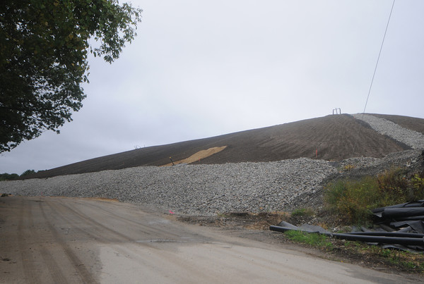 Newburyport: The Crow Lane landfill in Newburyport. Jim Vaiknoras/Staff photo