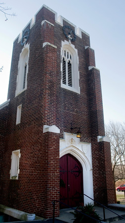 West Newbury: THe All Saint's Church in Wesy Newbury, the church is seeking Community Preservation Funding for masonry work to secure the building envelopes of the church and hall. Jim Vaiknoras/Staff photo
