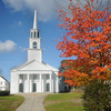 Amesbury: The Main Street Congregational Church in Amesbury recently had the trees removed from their front lawn. Jim Vaiknoras/Staff photo