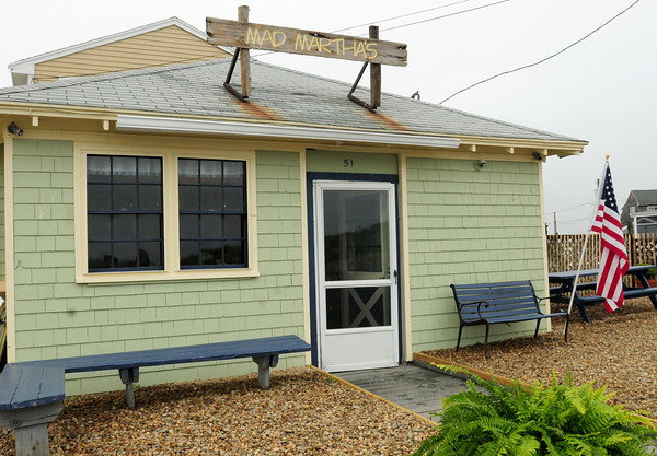 Newbury: Mad Martha's Cafe on Plum Island has two new owners and a new sign. Bryan Eaton/Staff Photo