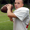 Amesbury: Amesbury High School starting football quarterback Matt Talbot. Bryan Eaton/Staff Photo