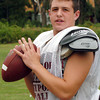 Newburyport: Newburyport High School starting football quarterback Conor Wile. Bryan Eaton/Staff Photo