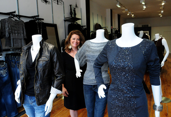 Newburyport: Liz Rodgers opened her women's clothing store, Lizology, on State Street in Newburyport over a week ago. Bryan Eaton/Staff Phot