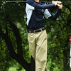 Newbury: Triton's Jon Stewart tees off yesterday at the Ould Newbury Country Club. Bryan Eaton/Staff Photo