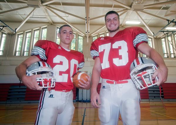 Amesbury high football captains