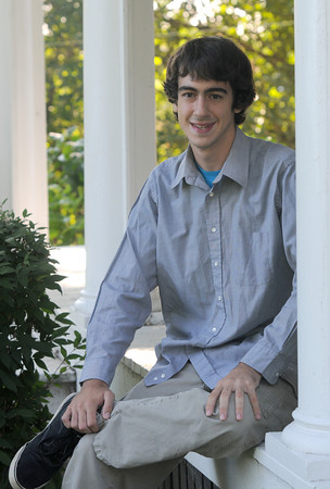 Merrimac:  Jacob H. Sargent is a finalist for the prestigious Merit scholarship.jIm Vaiknoras/Staff photo
