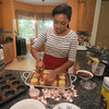 Newburyport: Cook of the Month 15-year-old Zoe Johnson. Jim Vaiknoras/Staff photo