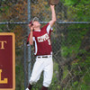 Newburyport: Newburyport's Benjamin Greene catches the second popup of two in a row. Bryan Eaton/Staff PHoto
