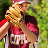 Newburyport: Newburyport pitcher Colby Morris keeps his eye on a North Reading player at third base on Saturday. Bryan Eaton/Staff Photo