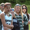 West Newbury: Pentucket girls lacrosse coach Rachel Abdulla, right. Bryan Eaton/Staff Photo