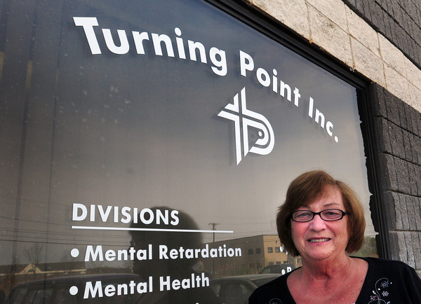 Newburyport: Executive director of Turning Point, Geraldine Dorr, is helping the organization celebrate its 40th year. Bryan Eaton/Staff Photo