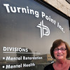 Newburyport: Executive director of Turning Point, Geraldine Dorr, is helping the organization celebrate its 40th year. Bryan Eaton/Staff Photo