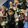 Amesbury: Students at Amesbury Elementary School appear before parents on Wednesday morning in a Bunny Fashion Show. Each child designed an outfit for their rabbit and wrote a descriptive paragraph about their designs. Bryan Eaton/Staff Photo