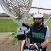 Byfield: Triton goalie Elizabeth Benoit has sparked the lacrosse team<br /> Jim Vaiknoras/staff photo
