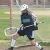 Byfield: Triton goalie Elizabeth Benoit has sparked the lacrosse team<br /> Jim Vaiknoras/staff photo