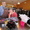 Newburyport:Julie Ganong and her husband Alan Mons owners of Chococoa Bakery in Newburyport. They are moving their business from Winter Street to the Tannery. Jim Vaiknoras/staff photo