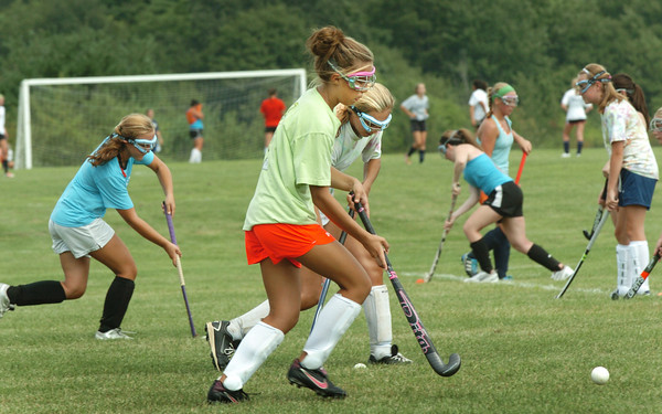 Byfield: Triton's field hockey team took to the field yesterday afternoon.  Bryan Eaton/Staff Photo