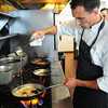 Salisbury: Chef Scott Brandolini of Seaglass in Salisbury Beach. Bryan Eaton/Staff Photo
