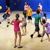 Salisbury: Children at the Boys and Girls Club play a game of dodge ball at the end of the day on Tuesday. The club still has a couple weeks left in the summer program.Bryan Eaton/Staff Photo