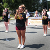 Newburyport: Newburyport Youth Cheerleading Squad does a routine along the parade route. Bryan Eaton/Staff Photo