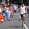 Newburyport: Nick Carleo wins the High Street Mile in the under 16 years old category. Bryan Eaton/Staff Photo