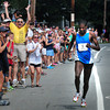 Newburyport: Abiyot Endale of New York City finishes in the High Street Mile. Bryan Eaton/Staff Photo