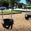 Newburyport: Cushing Park is a mix of playground, basketball courts and parking areas. Bryan Eaton/Staff Photo