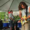 Newburyport: The classic rock bank Rockus took the stage for the Yankee Homecoming Waterfront Concert Series yesterday afternoon. Bryan Eaton/Staff Photo