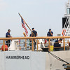 Newburyport: The crew of the Hammerhead make the ship , ship shape for this weekend events honoring Newburyport as a Coast Guard City. Jim Vaiknoras/staff photo