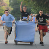 Newburyport: The Beach Coma bed at the annual Yankee Homecoming Bed Race. Jim Vaiknoras/staff pho