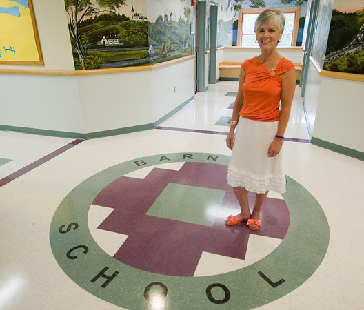South Hampton:Barnard School principal Barbara Knapp is retiring after 40 years at the school. Jim Vaiknoras/staff photo