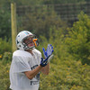 Byfield: Triton football player Jimmy Driscoll waits for a pass during practice. Jim Vaiknoras/staff photo
