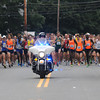 Newburyport: The Yankee Homecoming 10 mile race starts on High Street Tuesday night. JIm Vaiknoras/staff photo