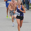 Newburyport: Katrina Morris was the woman's winner of the Yanhee Homecoming 5k. Jim Vaiknoras/staff photo