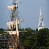 Newburyport: The HMS Bounty which visited Newburyport earlier this year has sunk off the North Carolina coast with two of the 17-member crew reported missing. Bryan Eaton/Staff Photo