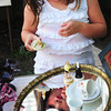 """Newburyport: After spending time with adults looking at what interests them at the 48th Annual Antiques School, Ella Santos, 5, of Newburyport said she wanted to """"look at the cute stuff."""" Bryan Eaton/Staff Photo"""