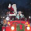 Amesbury:Santa and Mrs.Claus make their way down Main Street as a light snow falls at the annual Amesbury Parade Saturday.. Jim Vaiknoras/staff photo