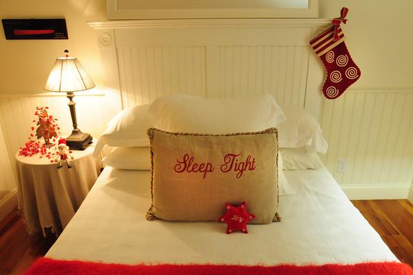 Newbury: Guest room in Deborah Byrnes Plum Island home. Bryan Eaton/Staff Photo