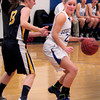 Georgetown: Georgetown's Kylie Troy moves around a Lynnfield defender in action last night. Bryan Eaton/Staff Photo