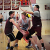 Newburyport: The Newburyport High boys basketball team practices Sunday for the upcoming holiday tournament. Bryan Eaton/Staff Photo