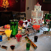 Newburyport: The  Kingdom of Sweets adorns the Tuthill's dining room table. Bryan Eaton/Staff Photo