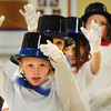 "Salisbury: ""The Believers"" Dance Troupe from the Lower Merrimack Valley Boys and Girls club performed several numbers, including ""Life is a Cabaret"" at the Hilton Senior Center in Salisbury on Wednesday morning. The dozen young girls then had lunch with the seniors after their performance. Bryan Eaton/Staff Photo"