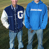 Georgetown: Georgetown wrestling seniors Chris Paquette and David Ingraham. Jim Vaiknoras/staff photo