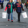 Merrimac:Dawn Ackerman and Caitlin Miracle collect donation in the annual Merrimac Santa Parade Sunday. JIm Vaiknoras/staff photo