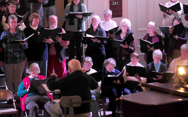 Newburyport:The Newburyport Choral Society under the direction of Gerald Weale. Jim Vaiknoras/Staff photo