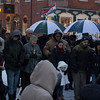 newburyport: People gather in Market Square in Newburyport for a prayer vigil remembering the victims of Friday's shooting in Newtown CT.JIm Vaiknoras/staff photo