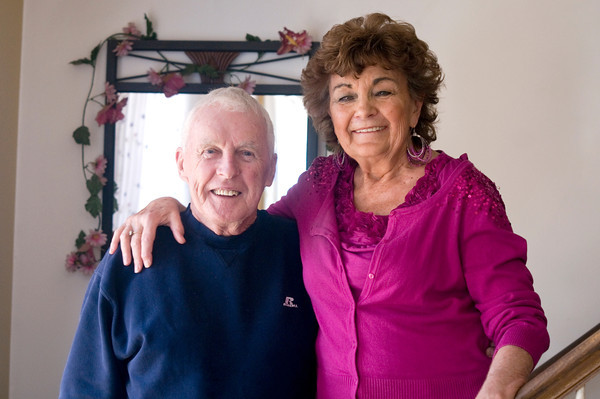 Seabrook: Lorraine and Paul Haley of Seabrook. Jim Vaiknoras/staff photo