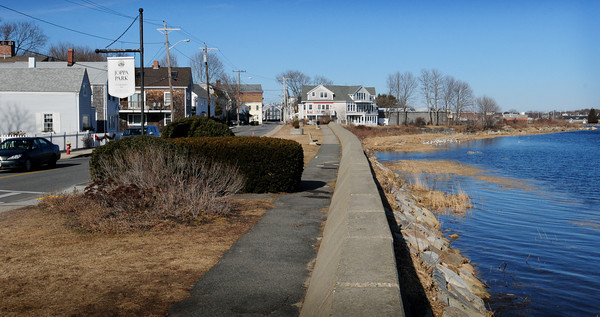 Newburyport: Joppa Park in the east end of downtown Newburyport sits right on the Merrimack River. Bryan Eaton/Staff Photo