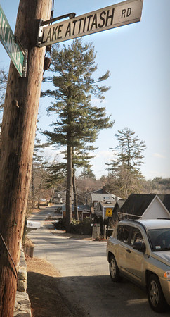 Amesbury: Lake Attitash Road is one of about thirty streets to be repaved in Amesbury this year. Bryan Eaton/Staff Photo